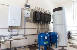 Монтаж системы отопления в коттедже Лыткарино