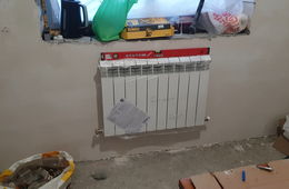 Монтаж радиатора отопления в частном доме Лыткарино