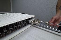 Монтаж радиаторов отопления с нижней подводкой Лыткарино