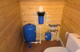 Монтаж водоснабжения в частном доме Лыткарино